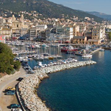 Alter Hafen Bastia Korsika